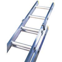 Machine Mart Xtra Lyte ELT245 2 Section Trade Extension Ladder 4.42m-7.81m