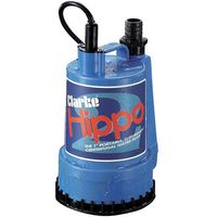 110 Volt Clarke Hippo 2 1 Submersible Water Pump (110V)
