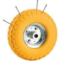 Clarke Clarke PF265 Yellow Tyred Wheel