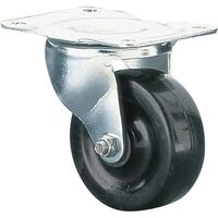 Clarke ML383S 75mm Swivel Castor - Rubber