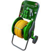 Machine Mart 25m Hose Reel Trolley Set