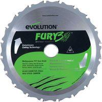 Evolution Evolution FURY3 210mm Replacement Multipurpose TCT Blade