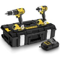 DeWalt DeWalt DCK285M2 - 18V 4.0Ah Li-Ion Hammer Drill & Impact Driver Twinpack