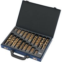 Clarke Clarke CHT565 - 170pc Titanium Coated HSS Drill Bit Set