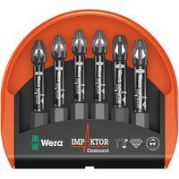 Wera Wera Minicheck 3 Pz Impaktor 6Pc Pz2 & Pz3 X 50Mm