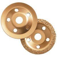 Clarke Clarke CHT589 115mm Carbide Grinding Discs 2 piece set