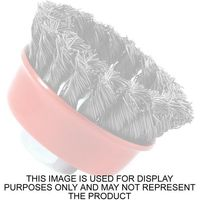 National Abrasives National Abrasives 75mm Twisted Knot Cup Brush - M14