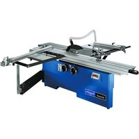 Machine Mart Xtra Scheppach Forsa 8.0 Precision Panel Sizing Saw With Sliding Table Carriage, Telescopic Arm & Scoring Unit (400V)