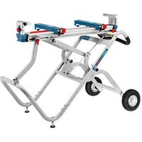 Machine Mart Xtra Bosch GTA2500W Transport & Workbench for Table Saw