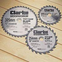 Clarke Clarke 254mm TCT Circular Saw blade 60 Tooth 16mm Bore