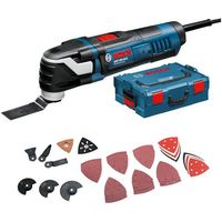 Machine Mart Xtra Bosch GOP 300 SCE Professional Multi Tool Kit With 48 Accessories (110V)