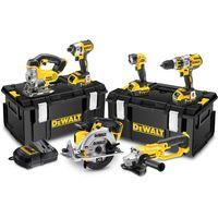 DeWalt Dewalt DCK694P3-G 18V Brushless 6 Piece Kit (3 batteries) & 2 x Kitboxes