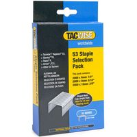 Tacwise Tacwise Type53 Staple Selection Box - Pack Of 6000
