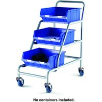 Barton Storage Topstore ACT Unbraked Angled Container Trolley