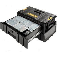 Machine Mart Xtra DeWalt DWST1-70728 DS250 2 Drawer ToughSystem Storage Box