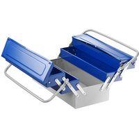 Machine Mart Xtra Britool E194738B - 450mm 5 Compartment Metal Toolbox