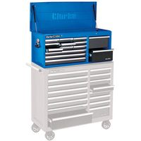 Clarke Clarke CBB224BLB Extra large HD Plus 14 Drawer Tool Chest (Blue Line)