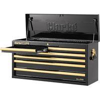 Clarke Clarke CBB306BG Large Heavy Duty 6 Drawer Tool Chest (Black & Gold)