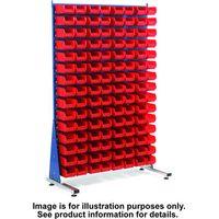 Barton Storage Topstore MSS1.5 Spacemaster TC Single Sided Bin Kit 40 x TC4 Red 011518B