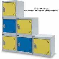 Barton Storage Barton Storage Silver/Yellow 380 Cube Locker