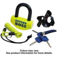 Machine Mart Xtra Oxford OF38 Orange Boss Super Strong Disc Lock