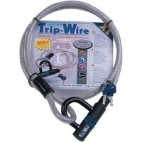 Oxford Oxford OF334 Trip-Wire High Security Cable and Padlock - 1.6m