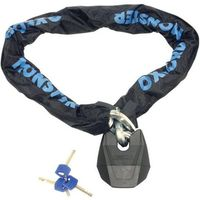 Machine Mart Xtra Oxford OF19 Monster XL 1.2m Ultra Strong Chain With Padlock