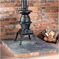 Price Cuts Clarke Pot Belly Large - Cast Iron Stove