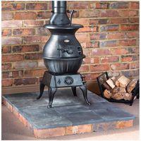 Clarke Clarke Pot Belly Extra Large - Cast Iron Wood Burning Stove