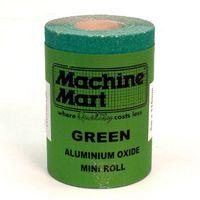 National Abrasives Green Aluminium Oxide Paper - 5m Roll, 100 Grit