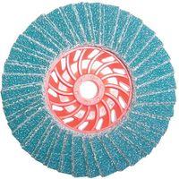 National Abrasives Turbo Zirconium Flap Disc 115mm Grit 40