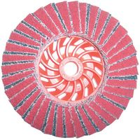 National Abrasives Turbo Ceramic & Zirconium Flap Disc 115mm Grit 40