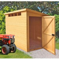 Machine Mart Xtra Shire 10 x 6 Security Pent Shed