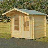 Machine Mart Xtra Shire 7 x 7 Crinan Log Cabin