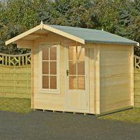 Machine Mart Xtra Shire 8 x 8 Crinan Log Cabin