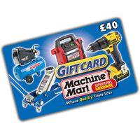 Machine Mart 40 Machine Mart Gift Card