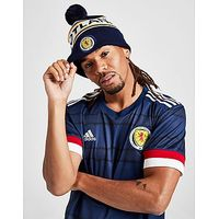Official Team Scotland FA Text Knitted Bobble Hat - Navy - Mens