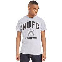 Official Team NUFC Saint James Park T-Shirt - Grey/Black - Mens