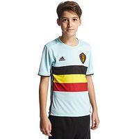 adidas Belgium 2016 Away Shirt Junior - Vapor Blue - Kids