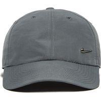 Nike Side Swoosh Cap - Charcoal Grey/Metallic Silver - Mens