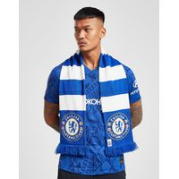 Official Team Chelsea FC Bar Scarf - Blue/White - Mens