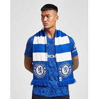 Official Team Chelsea FC Bar Scarf - Blue/White - Mens