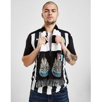 Official Team Newcastle United FC Bar Scarf - Black/White - Mens