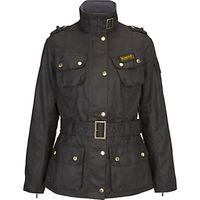 Barbour International Wax Jacket, Black