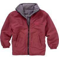 Woodhill School Unisex Reversible Coat, Maroon
