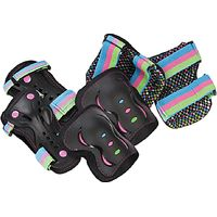 Rio Roller Disco Pad Set, Black/Multi