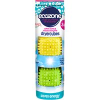 Ecozone Tumble Drying Cubes, Pack of 2