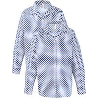 Grey Coat Hospital School Long Sleeve Blouse, Pack Of 2, White/Blue