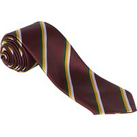K.D. Grammar School For Boys School Tie, Maroon Multi