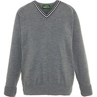 Nottingham High School Junior Pullover, Grey